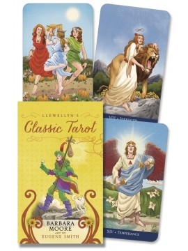 Llewellyn's Classic Tarot Mini by Barbara Moore & Eugene Smith