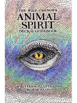 The Wild Unknown Animal Spirit Deck and Guidebook by Kim Krans