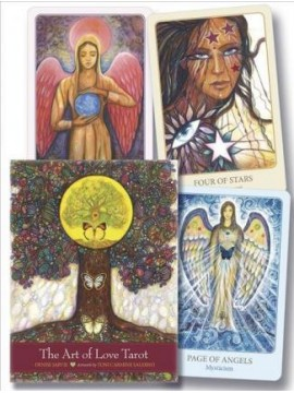 The Art of Love Tarot : Illuminating the Creative Heart by Toni Carmine Salerno
