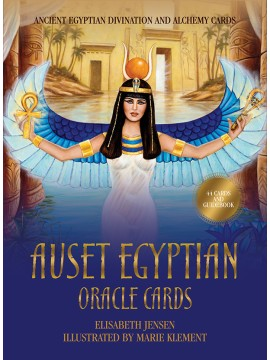 Auset Egyptian Oracle Cards : Ancient Egyptian Divination and Alchemy Cards by Elisabeth Jensen & Marie Klement