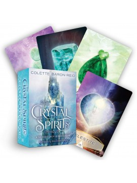 The Crystal Spirits Oracle : A 58-Card Deck and Guidebook by Colette Baron-Reid