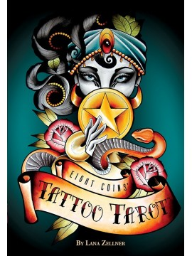 Eight Coins' Tattoo Tarot by Lana Zellner