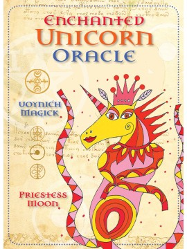 Enchanted Unicorn Oracle :  Voynich Magick by Priestess Moon