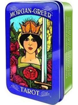 Morgan-Greer Tarot in a Tin by Lloyd Morgan