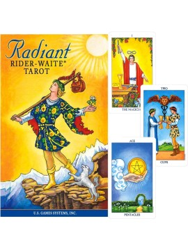 Radiant Rider-Waite Tarot by Pamela Smith & Virginijus Poshkus