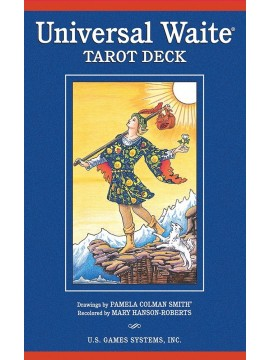 Universal Waite Tarot Deck by Pamela Colman Smith, A. E Waite and Mary Hanson-Roberts