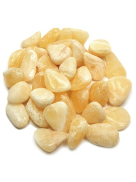 Calcite Yellow Tumbled Crystal