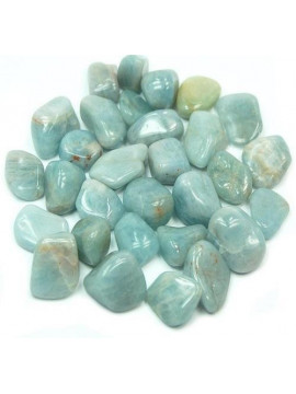 Small Aquamarine Tumbled Crystal