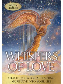 Whispers of Love: Attracting More Love into Your Life by Angela Hartfield & Josephine Wall